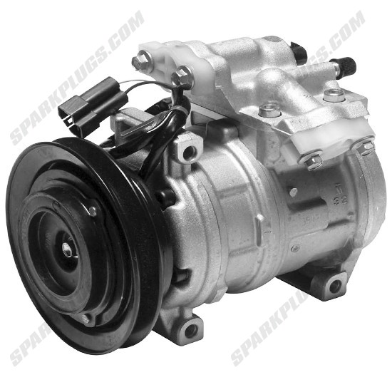 Picture of Denso 471-0267 New A/C Compressor with Clutch