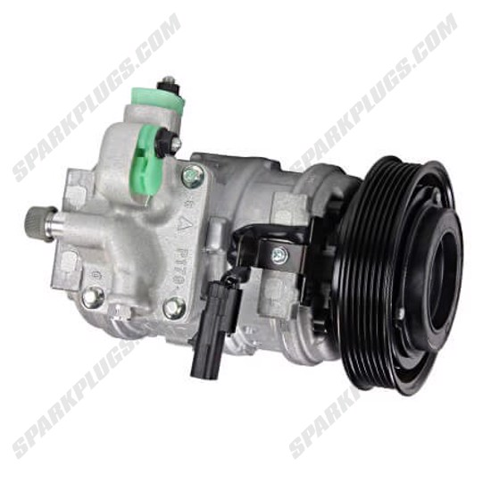Picture of Denso 471-0279 New A/C Compressor with Clutch