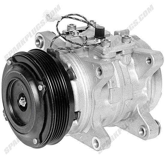 Picture of Denso 471-0311 Remanufactured A/C Compressor with Clutch