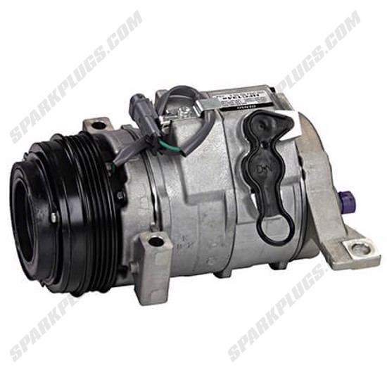 Picture of Denso 471-0315 New A/C Compressor with Clutch