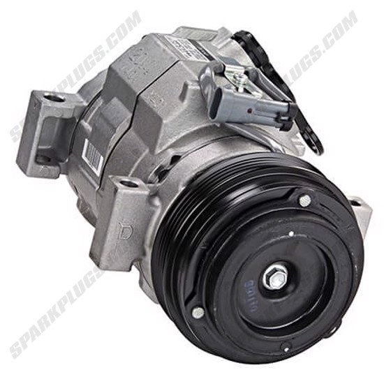 Picture of Denso 471-0316 New A/C Compressor with Clutch