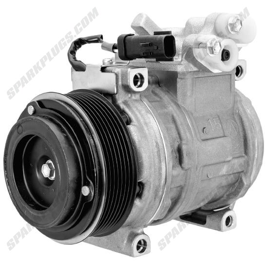 Picture of Denso 471-0355 New A/C Compressor with Clutch