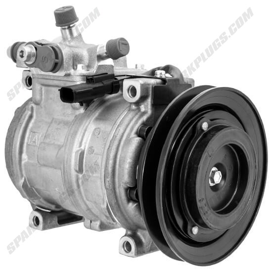 Picture of Denso 471-0357 New A/C Compressor with Clutch