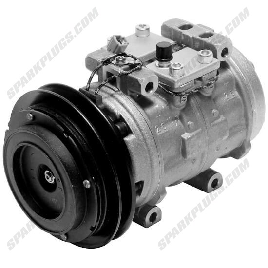 Picture of Denso 471-0368 Remanufactured A/C Compressor with Clutch