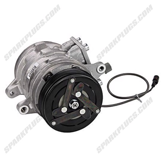 Picture of Denso 471-0394 Remanufactured A/C Compressor with Clutch