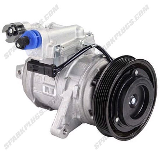 Picture of Denso 471-0397 New A/C Compressor with Clutch
