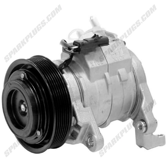 Picture of Denso 471-0398 New A/C Compressor with Clutch