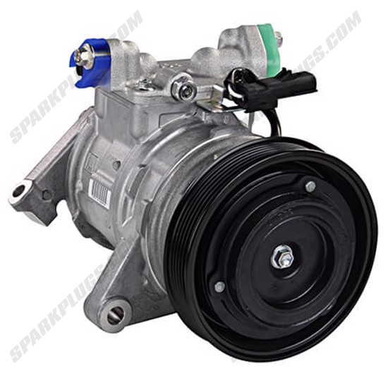 Picture of Denso 471-0399 New A/C Compressor with Clutch
