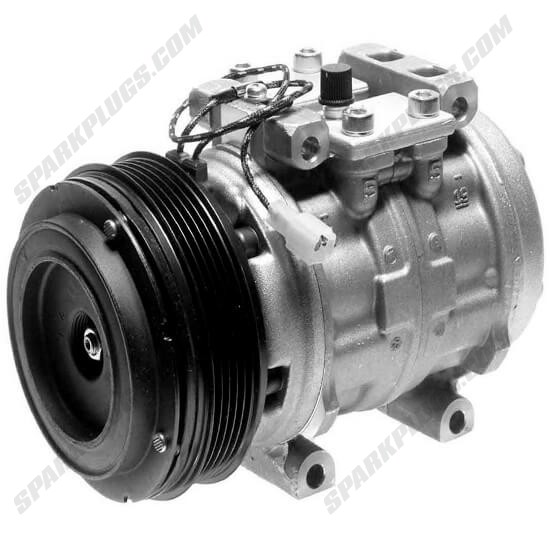 Picture of Denso 471-0431 Remanufactured A/C Compressor with Clutch