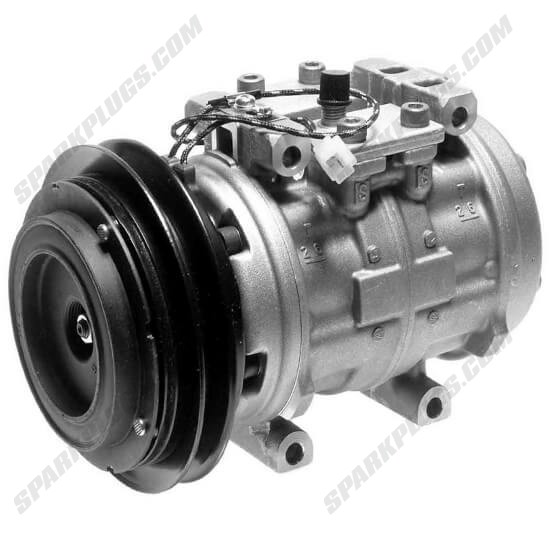 Picture of Denso 471-0432 Remanufactured A/C Compressor with Clutch