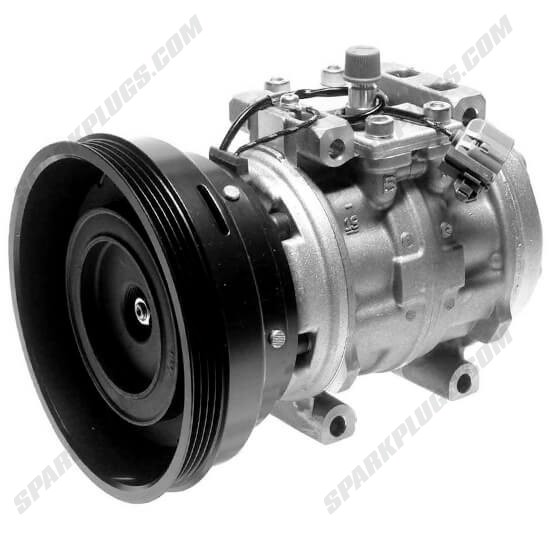 Picture of Denso 471-0434 Remanufactured A/C Compressor with Clutch
