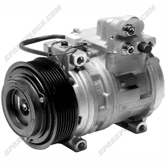 Picture of Denso 471-0445 New Heavy Duty A/C Compressor