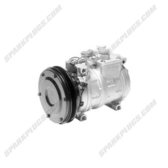 Picture of Denso 471-0448 New A/C Compressor with Clutch