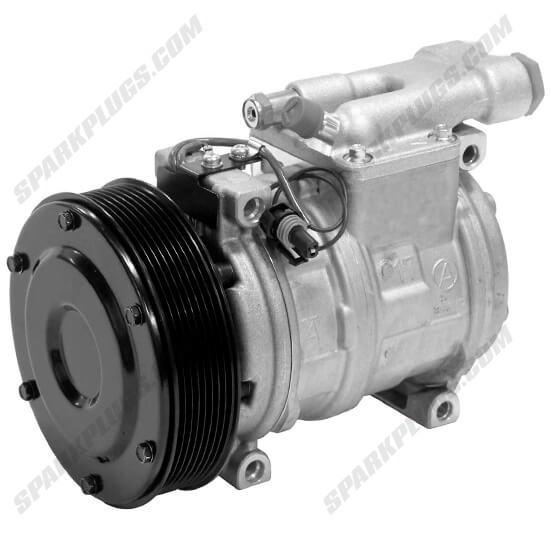 Picture of Denso 471-0453 New Heavy Duty A/C Compressor
