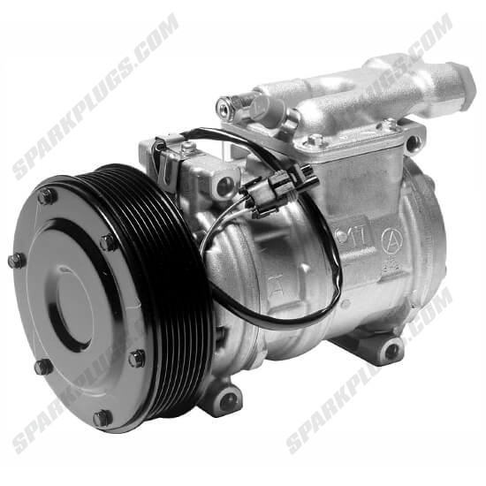 Picture of Denso 471-0456 New Heavy Duty A/C Compressor