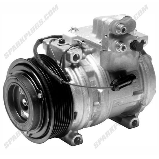 Picture of Denso 471-0458 New Heavy Duty A/C Compressor