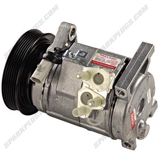 Picture of Denso 471-0522 New A/C Compressor with Clutch