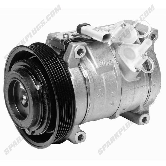 Picture of Denso 471-0544 New A/C Compressor with Clutch