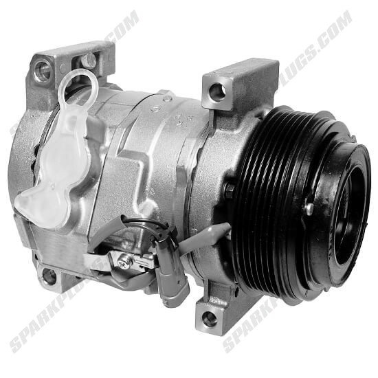 Picture of Denso 471-0700 New A/C Compressor with Clutch