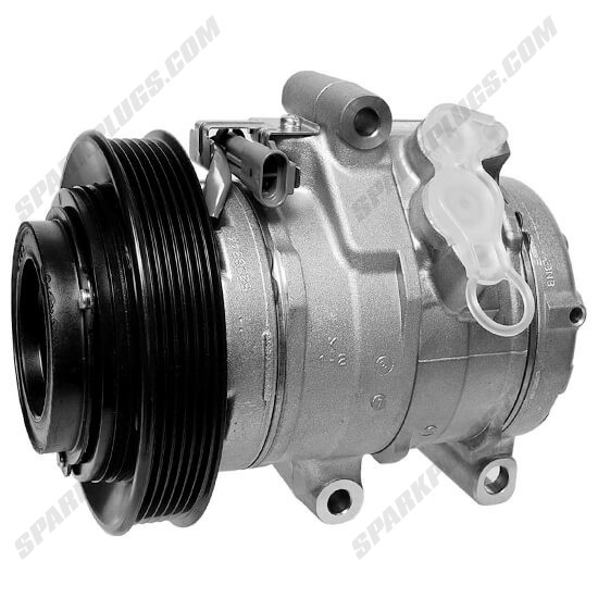 Picture of Denso 471-0703 New A/C Compressor with Clutch