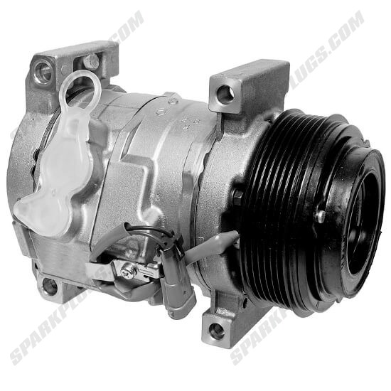 Picture of Denso 471-0704 New A/C Compressor with Clutch
