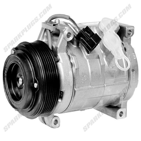 Picture of Denso 471-0705 New A/C Compressor with Clutch
