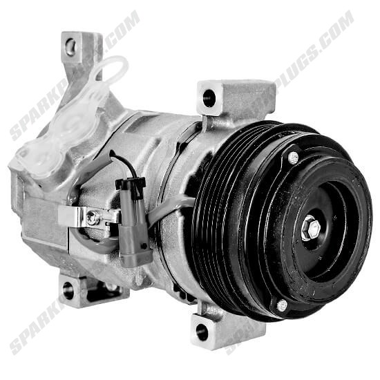 Picture of Denso 471-0706 New A/C Compressor with Clutch