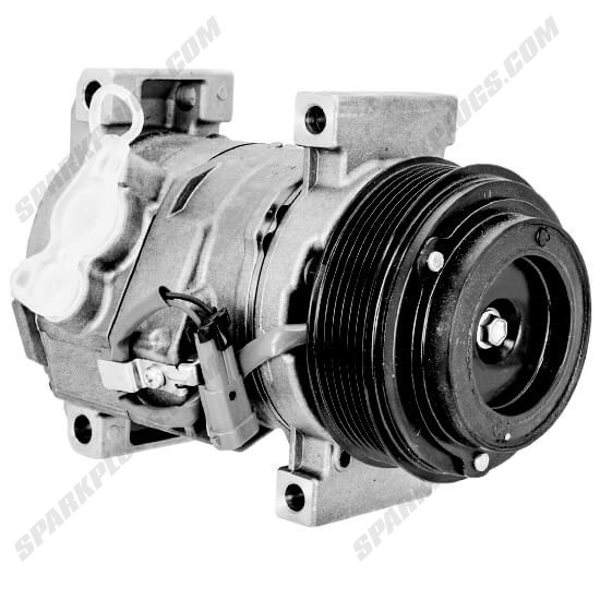 Picture of Denso 471-0707 New A/C Compressor with Clutch