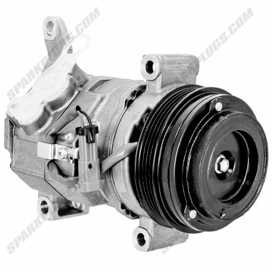 Picture of Denso 471-0708 New A/C Compressor with Clutch