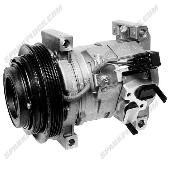 Picture of Denso 471-0709 New A/C Compressor with Clutch