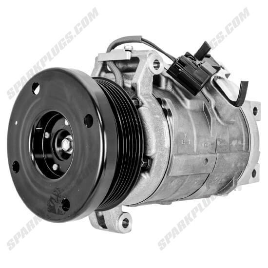 Picture of Denso 471-0712 New A/C Compressor with Clutch