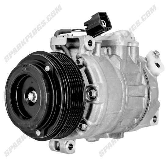 Picture of Denso 471-0716 New A/C Compressor with Clutch