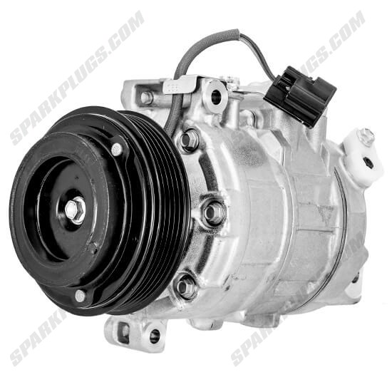 Picture of Denso 471-0717 New A/C Compressor with Clutch