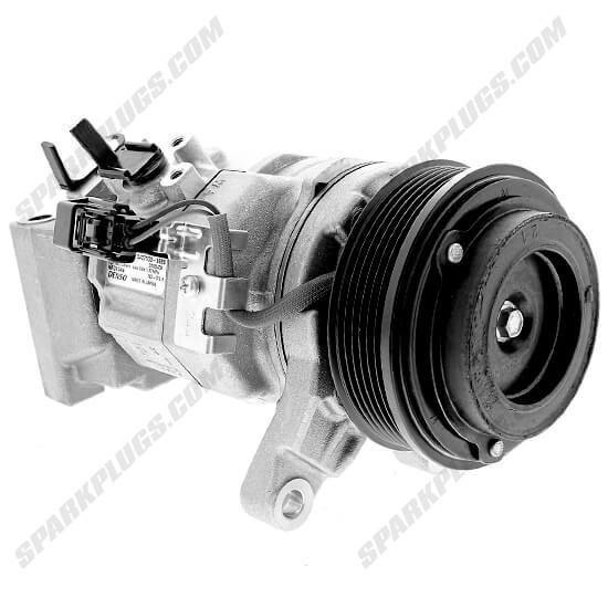 Picture of Denso 471-0718 New A/C Compressor with Clutch