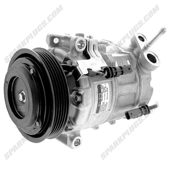 Picture of Denso 471-0719 New A/C Compressor with Clutch