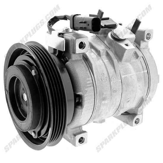 Picture of Denso 471-0800 New A/C Compressor with Clutch