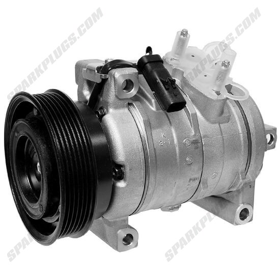 Picture of Denso 471-0810 New A/C Compressor with Clutch