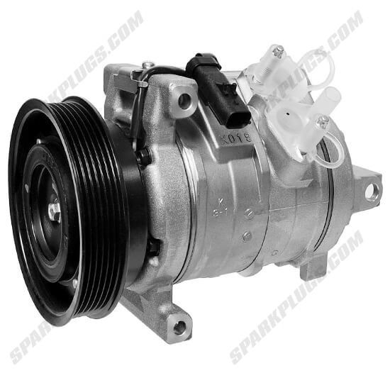 Picture of Denso 471-0811 New A/C Compressor with Clutch