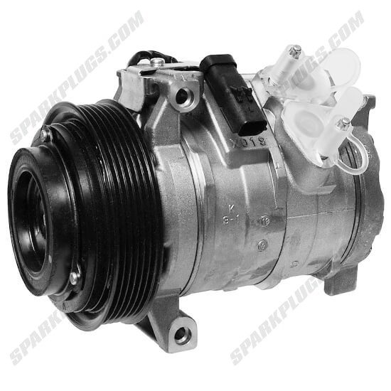 Picture of Denso 471-0812 New A/C Compressor with Clutch