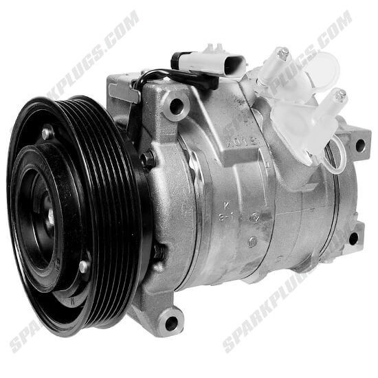 Picture of Denso 471-0813 New A/C Compressor with Clutch