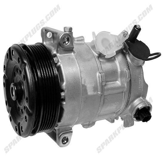 Picture of Denso 471-0817 New A/C Compressor with Clutch