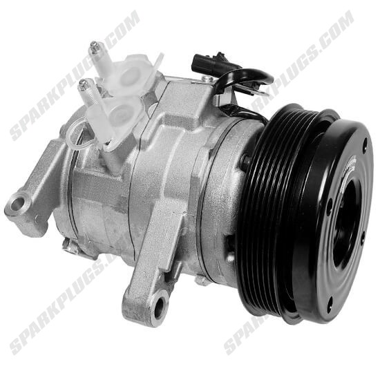 Picture of Denso 471-0819 New A/C Compressor with Clutch