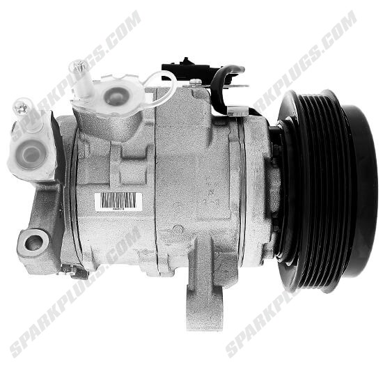 Picture of Denso 471-0823 New A/C Compressor with Clutch