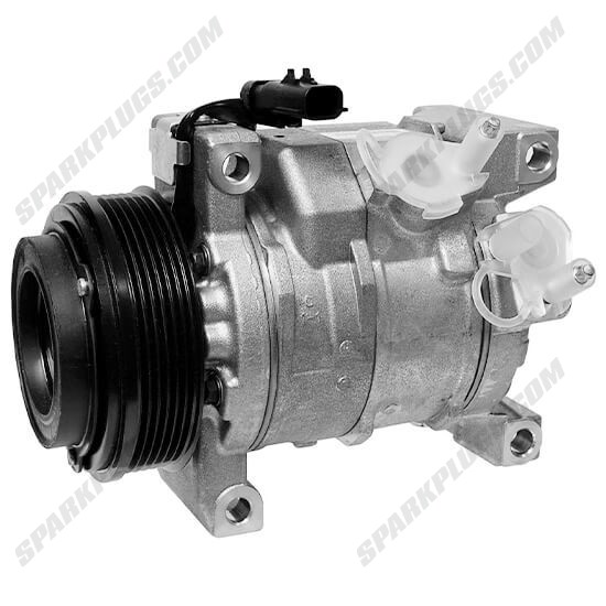 Picture of Denso 471-0824 New A/C Compressor with Clutch