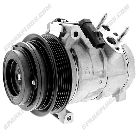 Picture of Denso 471-0826 New A/C Compressor with Clutch