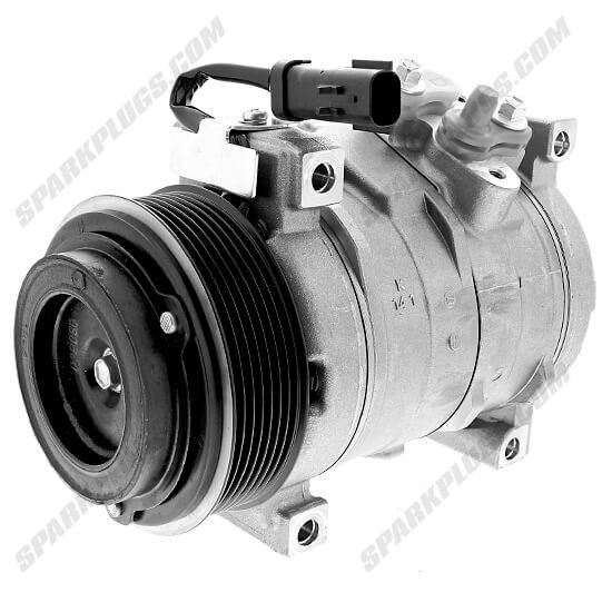 Picture of Denso 471-0827 New A/C Compressor with Clutch