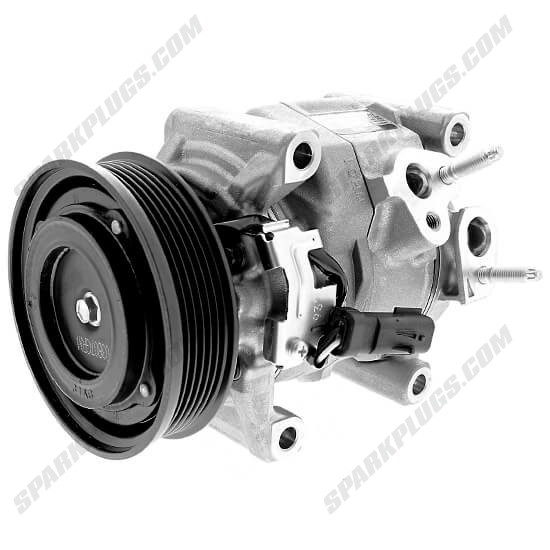Picture of Denso 471-0828 New A/C Compressor with Clutch