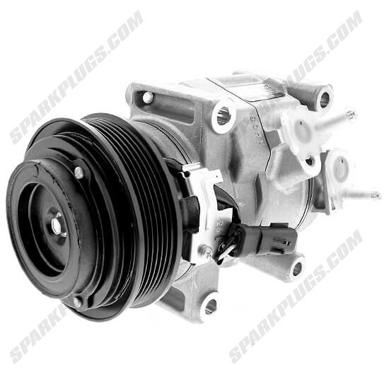 Picture of Denso 471-0829 New A/C Compressor with Clutch