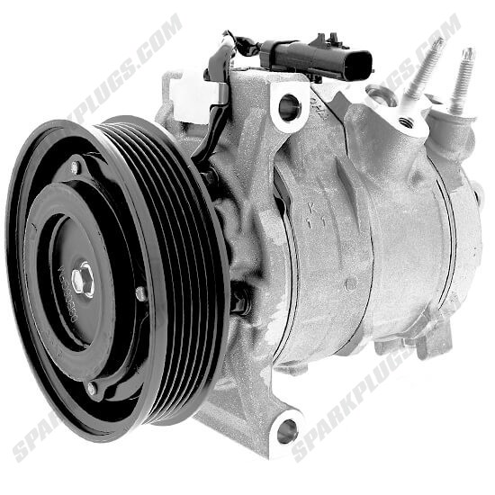 Picture of Denso 471-0831 New A/C Compressor with Clutch