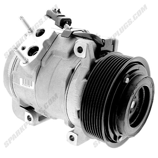 Picture of Denso 471-0832 New A/C Compressor with Clutch